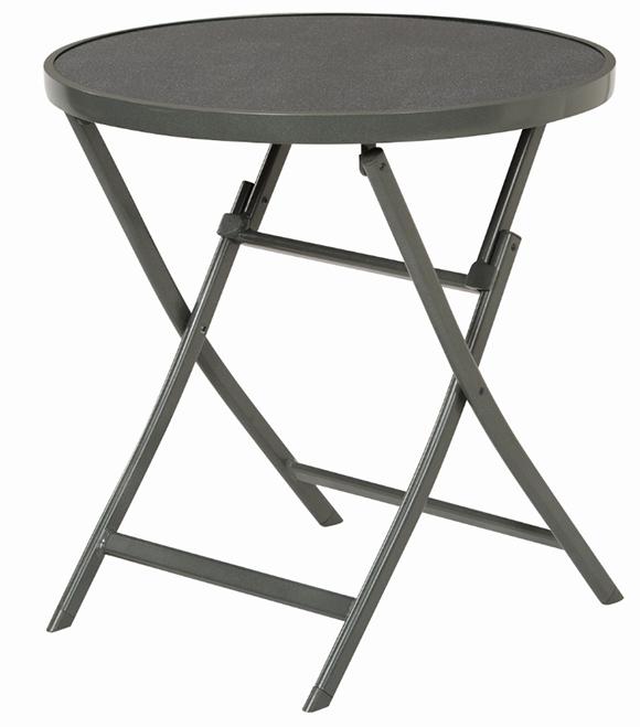 4uniq camping alu klapptisch anthrazit tisch 18643 mit glasplatte gartentisch ebay. Black Bedroom Furniture Sets. Home Design Ideas