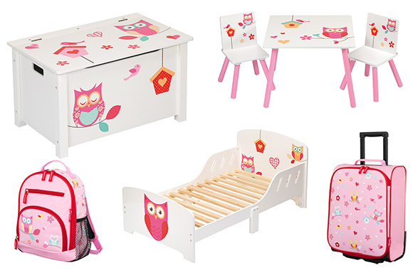 4uniq kindersitzgruppe eule tisch st hle kinderm bel kinderzimmer einrichtung ebay. Black Bedroom Furniture Sets. Home Design Ideas
