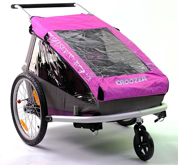 die letzten in pink croozer kid for 2 fahrradanh nger. Black Bedroom Furniture Sets. Home Design Ideas