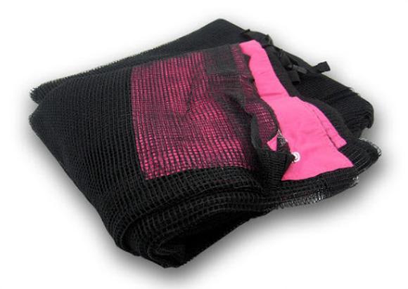 ersatznetz f r hudora trampoline 305 cm pink sicherheitsnetz netz ebay. Black Bedroom Furniture Sets. Home Design Ideas