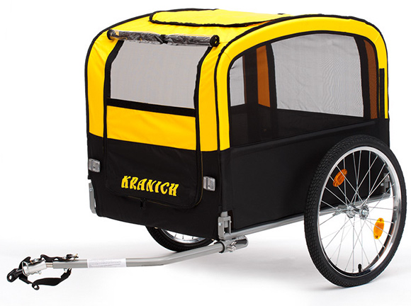 kranich fahrrad hundeanh nger monz 66471. Black Bedroom Furniture Sets. Home Design Ideas