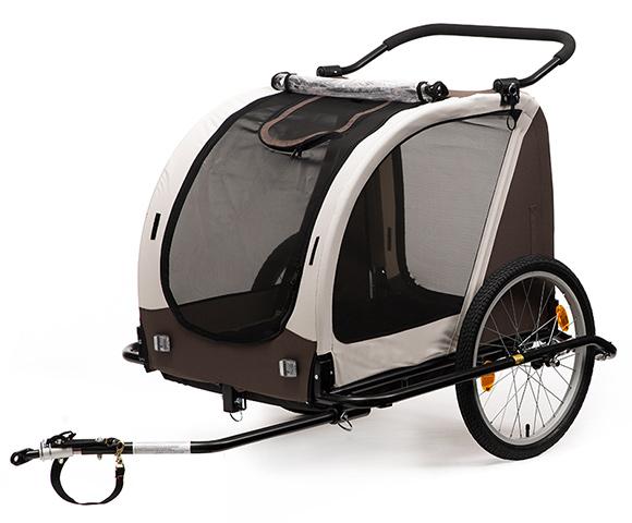 kranich fahrrad 20 hundeanh nger 66473 anh nger khaki. Black Bedroom Furniture Sets. Home Design Ideas