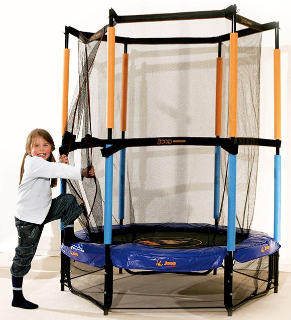 top kindertrampolin joey kinder trampolin netz hudora ebay. Black Bedroom Furniture Sets. Home Design Ideas