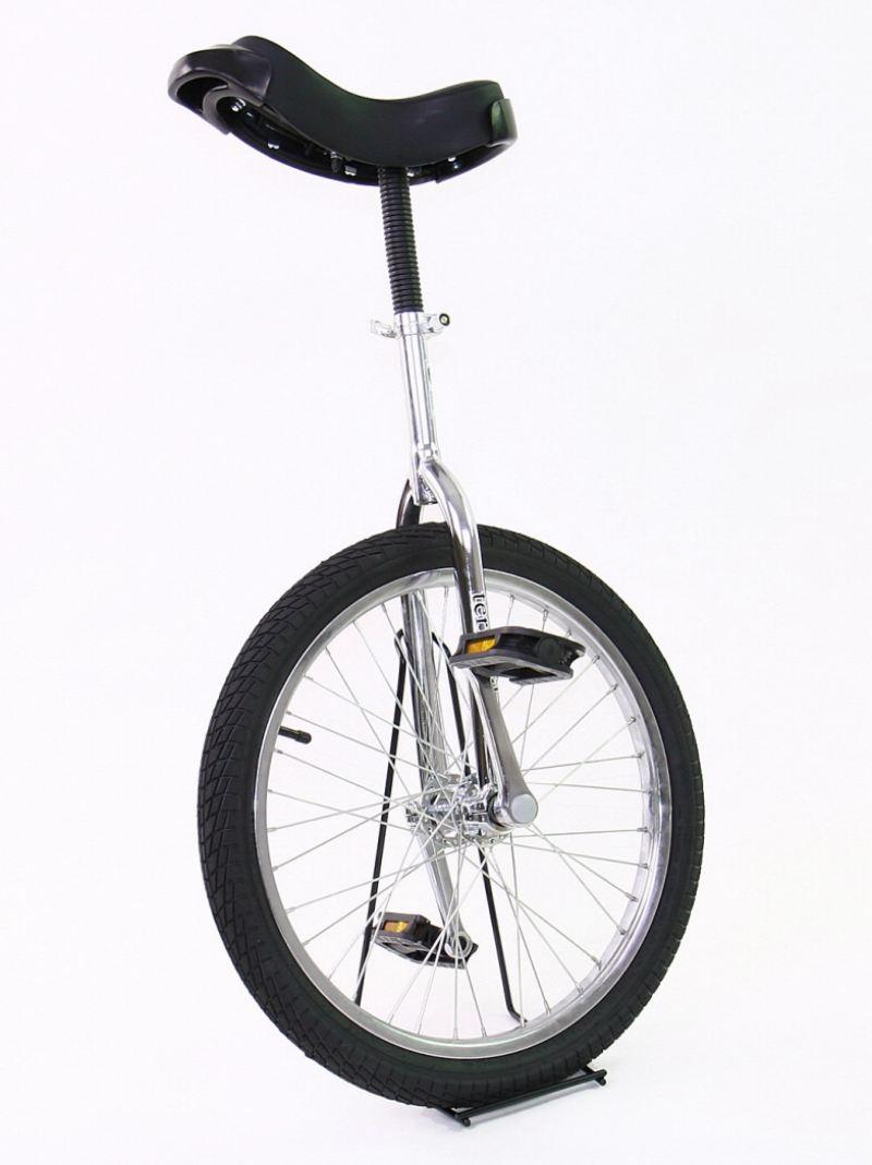 Monz-Terra-Bike-Einrad-20-Zoll-chrom-incl-Staender-und-3-Jahren-Garantie