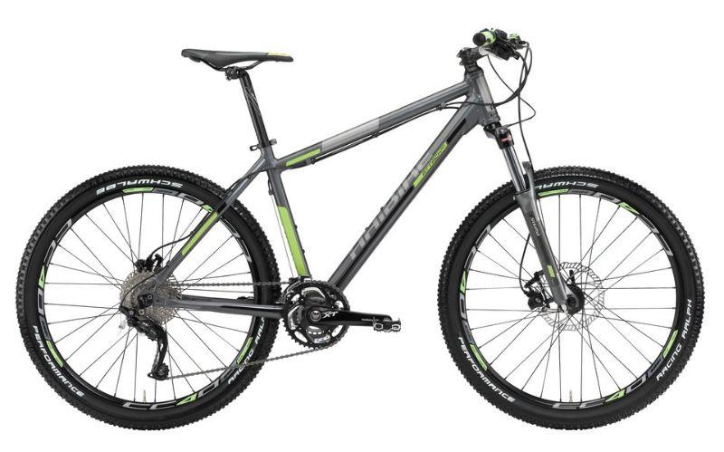 MTB-Hai-Attack-Modello-2012-Bicicletta-30g-XTHaiBike-Bici-Argento-Scuro