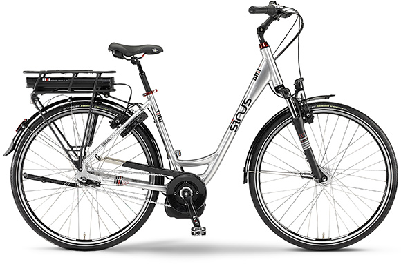 staiger ebike e bike sinus b2 rh46 einrohr 26 bosch 400wh. Black Bedroom Furniture Sets. Home Design Ideas