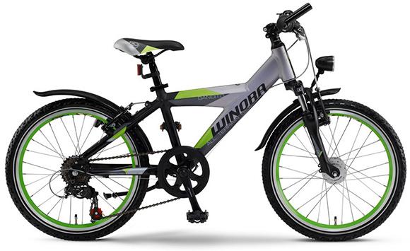 winora kinder jugendrad fahrrad bandito y mtb 20 zoll. Black Bedroom Furniture Sets. Home Design Ideas