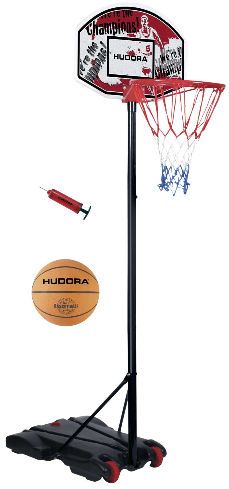 Basketballstaender-incl-Ball-Pumpe-Hudora-All-Stars-Basketballkorb