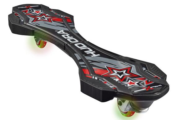 Led Beleuchtung Longboard : Details zu Hudora LEDWaveboard HuXX 20 Skateboard
