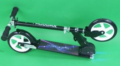 hudora 205 roller scooter cityroller mit beleuchtung big. Black Bedroom Furniture Sets. Home Design Ideas