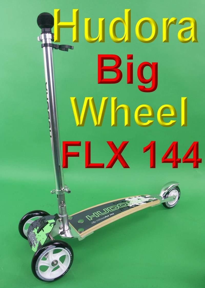 hudora big wheel flx 144 mm kickboard roller scooter ebay. Black Bedroom Furniture Sets. Home Design Ideas
