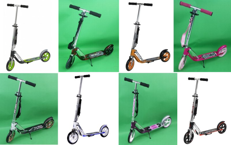 hudora big wheel 205 roller scooter cityroller rx mc. Black Bedroom Furniture Sets. Home Design Ideas