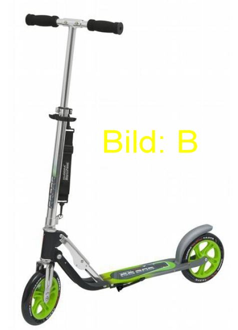hudora big wheel 205 roller scooter cityroller rx mc ebay. Black Bedroom Furniture Sets. Home Design Ideas