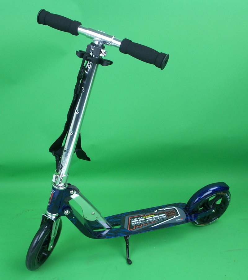 limited hudora big wheel 205 laserblau scooter roller ebay. Black Bedroom Furniture Sets. Home Design Ideas