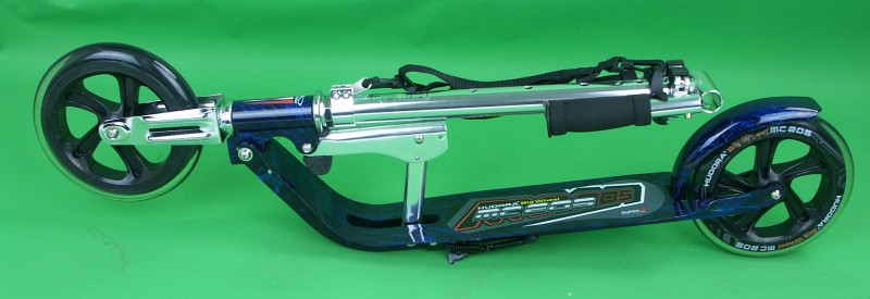 limited hudora big wheel 205 laserblau scooter roller ebay. Black Bedroom Furniture Sets. Home Design Ideas