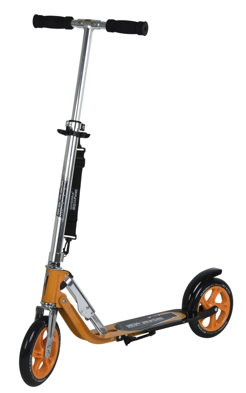 hudora big wheel mc rx 205 orange scooter roller ebay. Black Bedroom Furniture Sets. Home Design Ideas