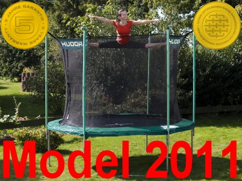 hudora trampolin 305 cm incl sicherheitsnetz t v gs ebay. Black Bedroom Furniture Sets. Home Design Ideas