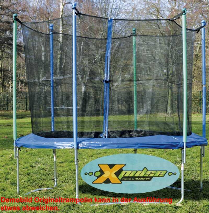 hudora trampoline 200 cm with net garden trampoline. Black Bedroom Furniture Sets. Home Design Ideas