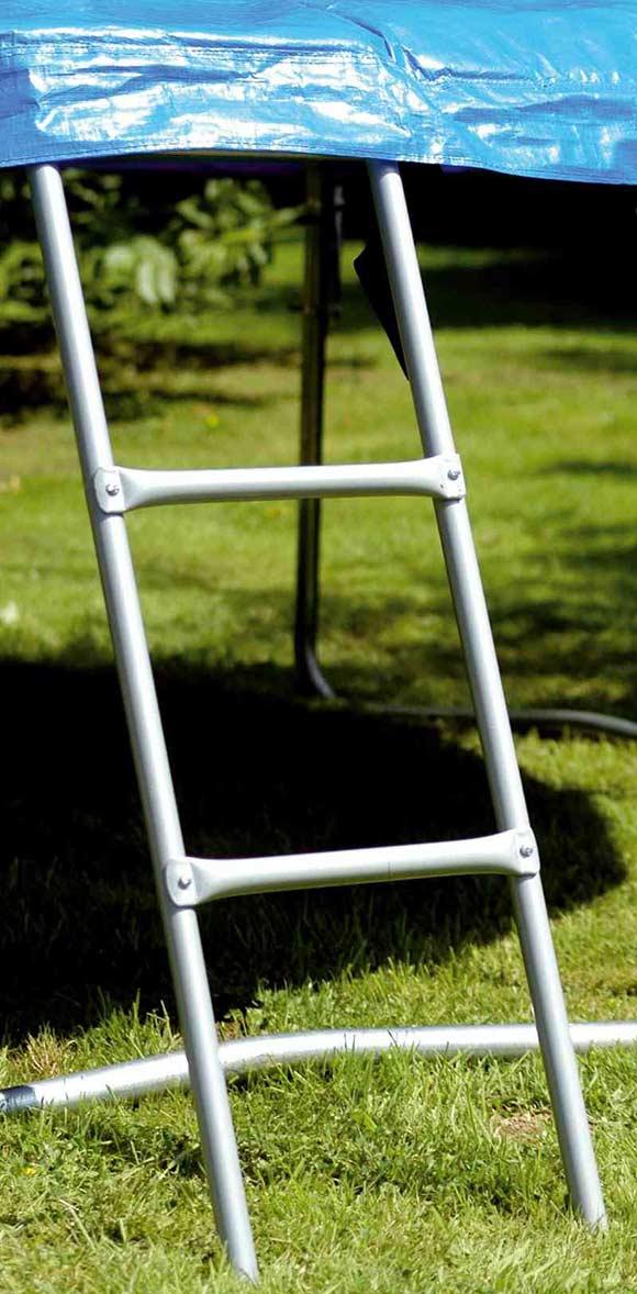 leiter f r trampoline bis ca 95 cm h he trampolin trampolinleiter 100 cm h he. Black Bedroom Furniture Sets. Home Design Ideas