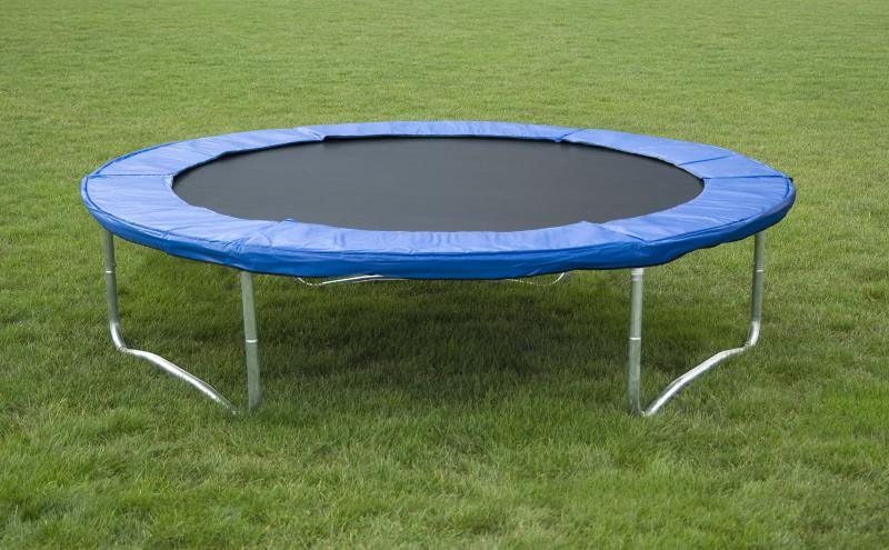 ideale trampolin 244 cm belastbar mit 150 kg ebay. Black Bedroom Furniture Sets. Home Design Ideas