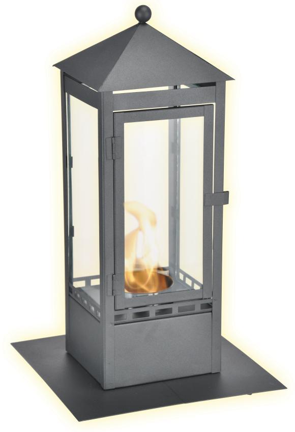 bio ethanol laterne gartenlaterne mit l schl ffel windlicht gartenfackel ebay. Black Bedroom Furniture Sets. Home Design Ideas