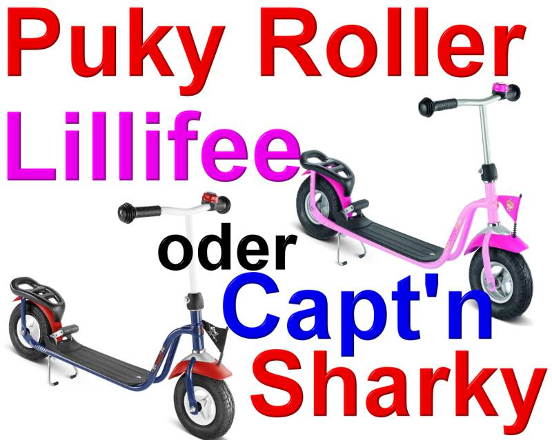 puky r03l roller lillifee o capt n sharky r 03 l 5128 ebay. Black Bedroom Furniture Sets. Home Design Ideas