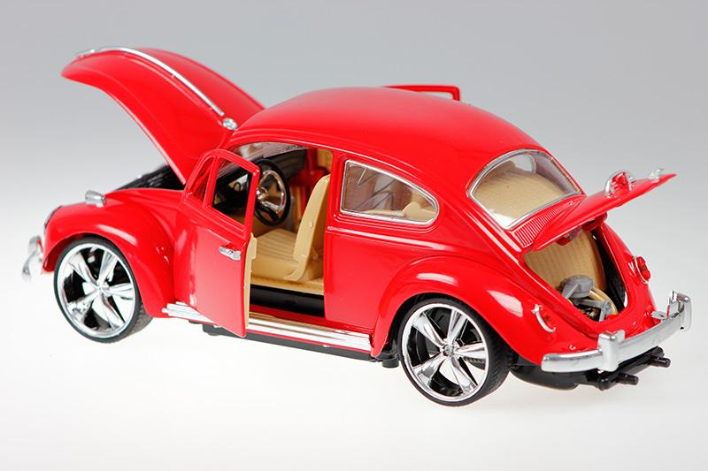 rc jamara vw k fer detailliertes modellauto kaefer 403030 die cast metall neu ebay. Black Bedroom Furniture Sets. Home Design Ideas
