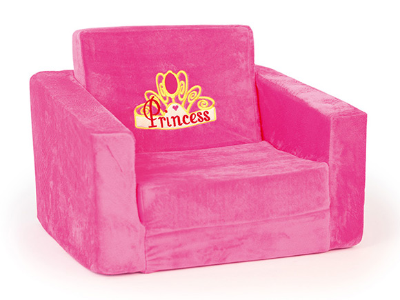 Sofa bed children bayer design chair blue or pink ebay for Schlafsofa pink